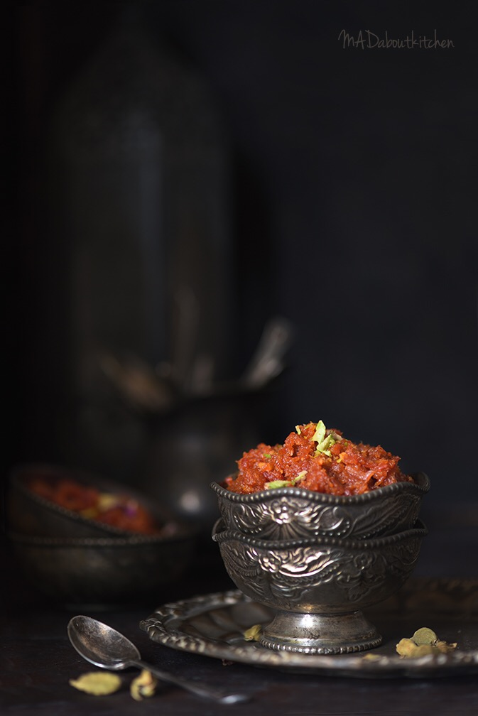 Gajar ka Halwa , the rich caramelised carrot pudding is one of the most popular Indian Dessert.